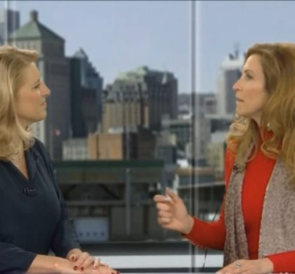 VIDEO: Cheryl chats with Global's Jamie Orchard