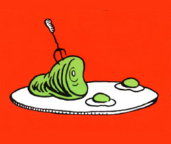 Cheryl Besner: Green eggs and ham!