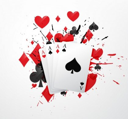"""Love is no poker game"""