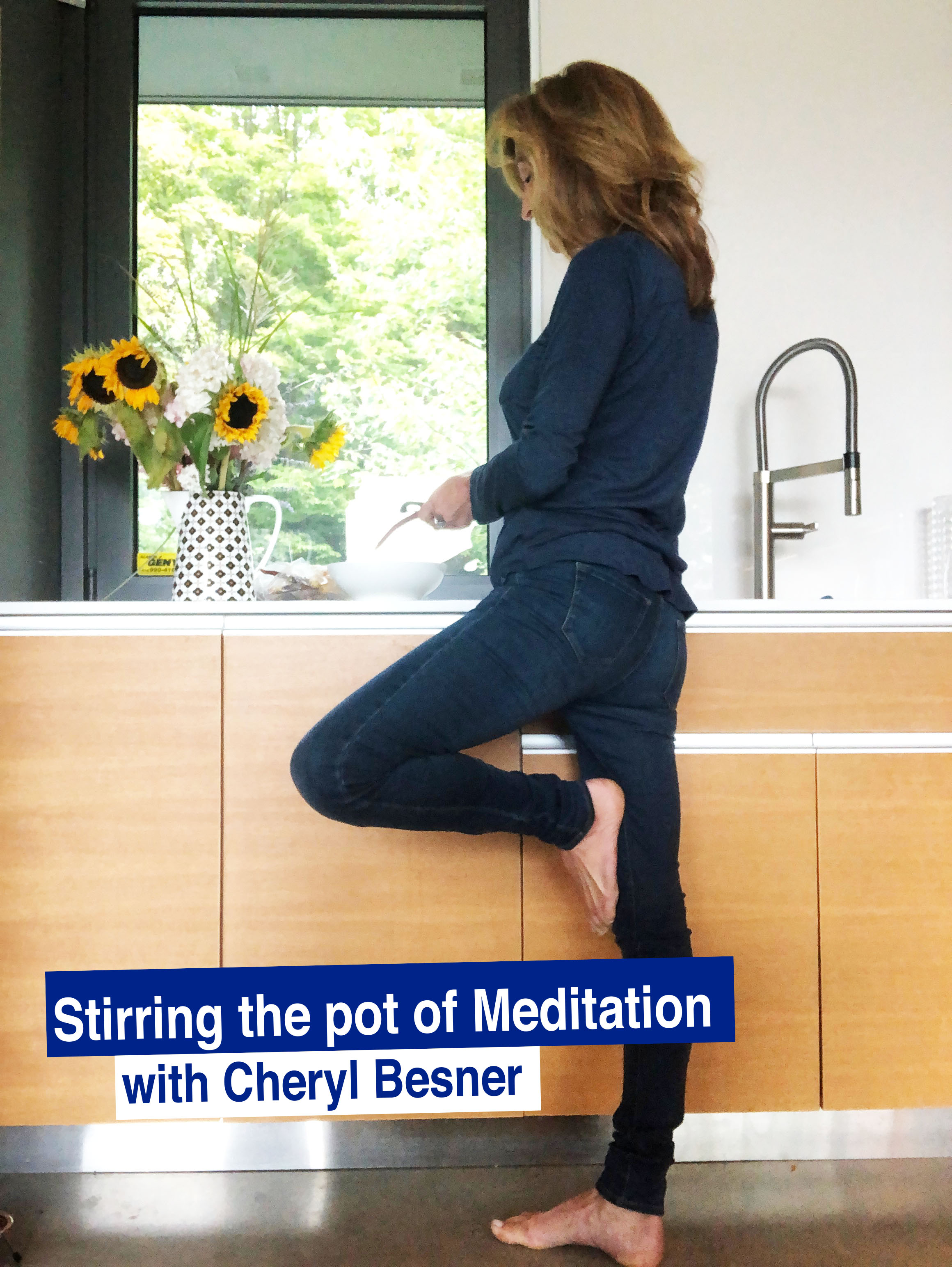 """Stirring the pot of  Meditation"""